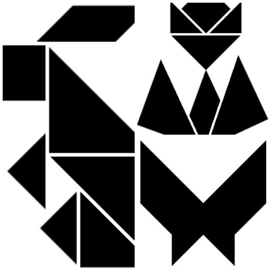 tangram-bosque